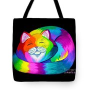 Cat Napping 2 Tote Bag