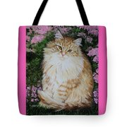 Kitten Cat Painting Perfect For Child's Room Art Tote Bag