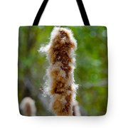 Cat Tail Fuzz Tote Bag