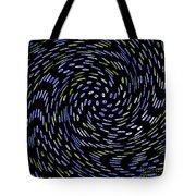 Cat Tail Swirl Tote Bag