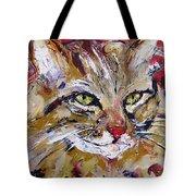 Feline Portrait  Tote Bag