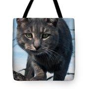 Cat Tree Tote Bag