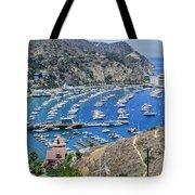 Catalina Harbor Tote Bag