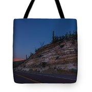 Catalina Highway Twilight Tote Bag