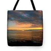 Catalina Island Sunset Tote Bag