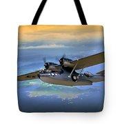 Catalina Over Islands Tote Bag