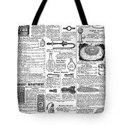 Catalogue Page, 1902 Tote Bag