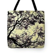 Catalpa Tree Gold Tote Bag