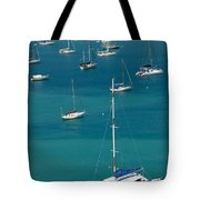 Catamaran  St Thomas Usvi Tote Bag