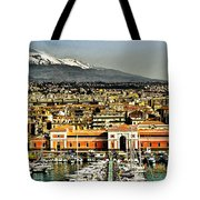 Catania Sicily Tote Bag