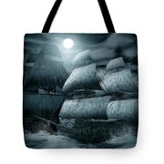 Catastrophic Collision  Tote Bag