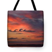 Catch The Cloud Wave Tote Bag