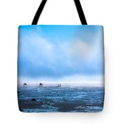 Catching Blue Tote Bag