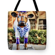 Catching Bull Tote Bag by Emily Kay
