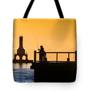 Catching Gold Tote Bag