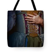 Catching Her Breath Tote Bag