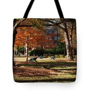 Catching Rays - Davidson College Tote Bag