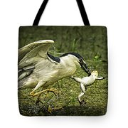 Catching Supper Tote Bag