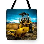 Caterpillar Cat Roller Cs563e Tote Bag