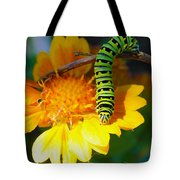 Caterpillar On The Prowl Tote Bag