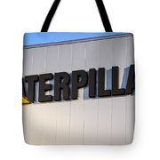 Caterpillar Sign Picture Tote Bag by Paul Velgos
