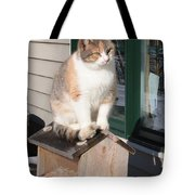 Catfeeder Tote Bag