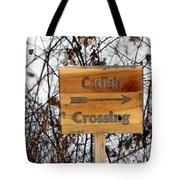 Catfish Crossing Tote Bag
