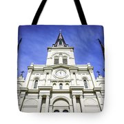 Cathedral-basilica Of St. Louis King Of France Tote Bag
