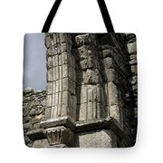Cathedral Broken Arch At Glendalough Tote Bag