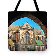 Cathedral Colmar France Tote Bag
