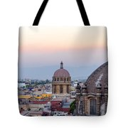 Cathedral Dome And City Tote Bag