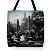 Cathedral Fence Tote Bag