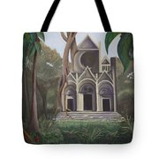 Cathedral In A Jungle Tote Bag