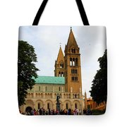 Cathedral In Pecs Tote Bag