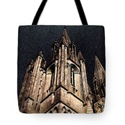 Cathedral In The Sky Tote Bag