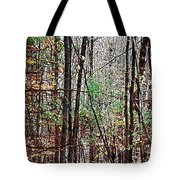 Cathedral In The Woods Tote Bag
