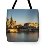 Cathedral Notre Dame - Sunrise Tote Bag