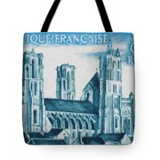 Cathedral Of Laon Tote Bag