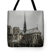Cathedral Of Notre Dame De Paris Tote Bag by Marco Oliveira