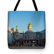 Cathedral Of Our Lady Of Kazan Tote Bag