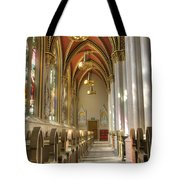 Cathedral Of Saint Helena Tote Bag