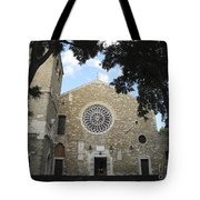 Cathedral Of San Giusto Tote Bag