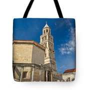Cathedral Of Split Diocletian Palace Tote Bag