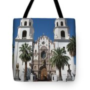 Cathedral Of St. Augustine Tuscon Tote Bag