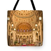Cathedral Of The Sacred Heart 2 Tote Bag