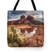 Cathedral Rock After The Storm Tote Bag