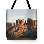 Cathedral Rock At Sunset Tote Bag