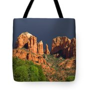 Cathedral Rock Before The Storm Tote Bag