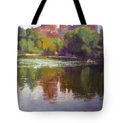 Cathedral Rock Reflection Tote Bag