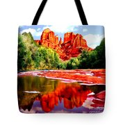 Cathedral Rock Sedona Arizona Tote Bag
